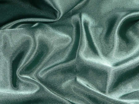 pleat: Green Satin Background