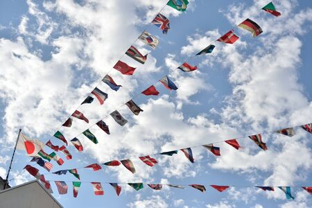 nations: The flags of all nations