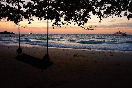 similan: Similan Island scenery  Stock Photo