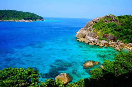 similan: Similan Island landscape
