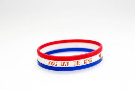 wristband: Thai flag wristband
