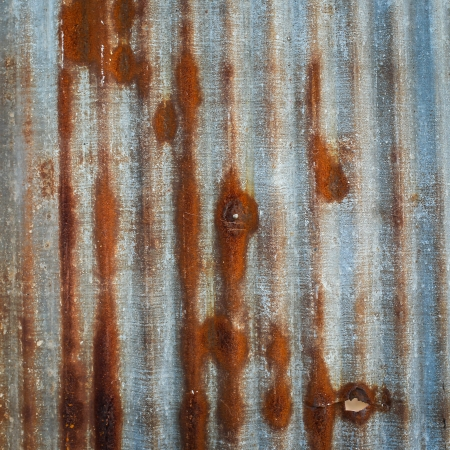 Galvanised iron background  photo