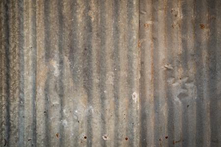 galvanised iron background  photo