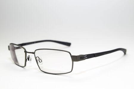 Titanium glasses isolated