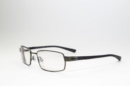 titanium: Titanium glasses isolated