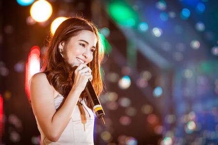 Chonburi,Thailand Feb 8,2013   The free concert of Channel 3 all star concert tour at Sriracha  Chonburi Thailand on Feb 8,2013