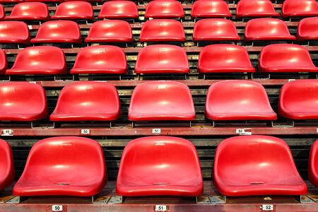 The empty sear at football stadium
