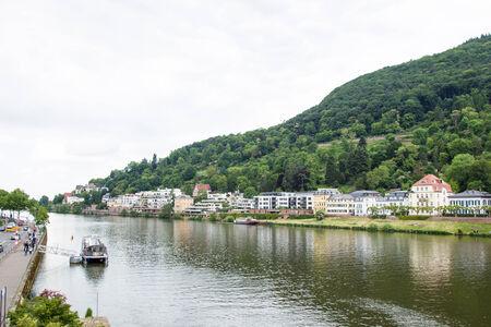 HEIDELBERG,GERMANY- MAY 18  The landscape of Heidelberg city on May 18, 2014 in,Germany