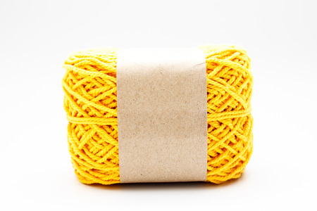 Cotton roll in white background  photo