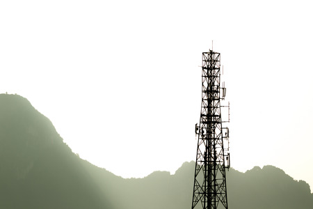 Radio tower. photo