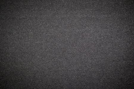 Black rubber background. photo