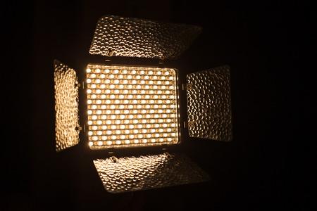 LED Lamp close up.