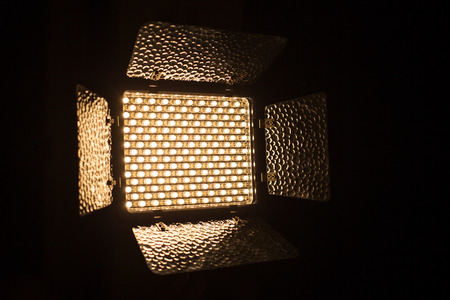 dimmer: LED Lamp close up.