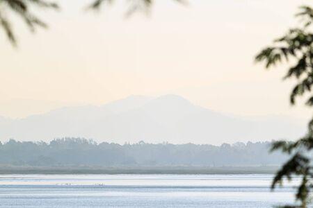 Beautiful lake in Thailand. photo