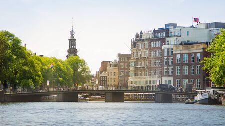 Landscape of Amsterdam.