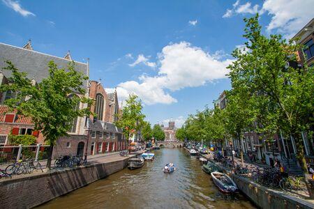 Landscape of Amsterdam. photo