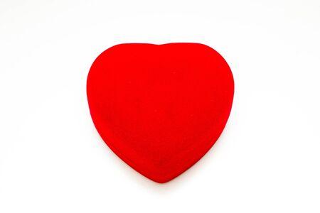 rad: Luxury rad heart box isolated.