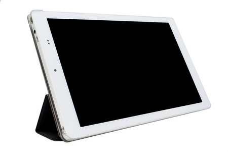 blank tablet: Tablet isolated.