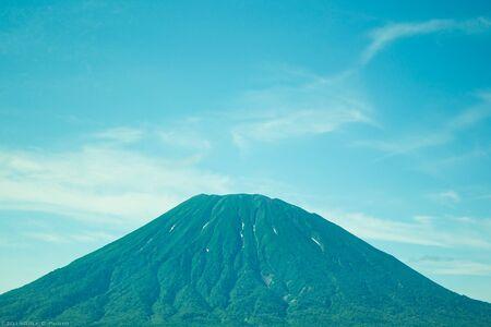 vacation destinations: The landscape of Mt.Yotei in Hokkaido Japan.