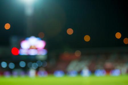 lighting background: Blur of lighting from football stadim background.