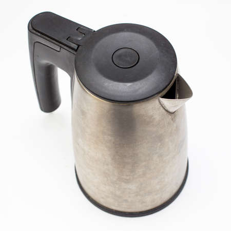 Electric kettle isolated.