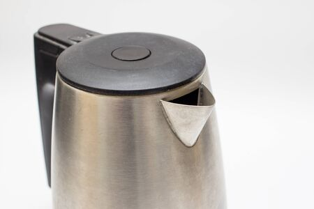 electric kettle: Electric kettle isolated.