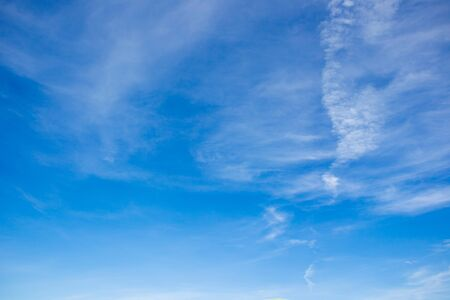 clear sky: Clear sky and cloud background.