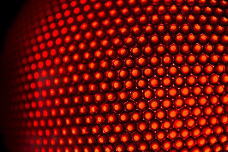 circle background: LED light close up background.