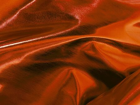 bedcover: Shiny Copper Decoration Fabric with Metallic Surface