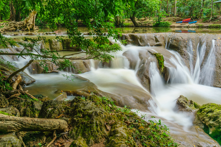 namtok: The waterfall at Namtok Muak Lek National Park ,Saraburi,Thailand