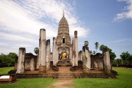 Sukhothai site Stock Photo