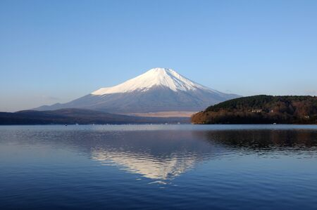Mt Fuji at Lake Yamanaka