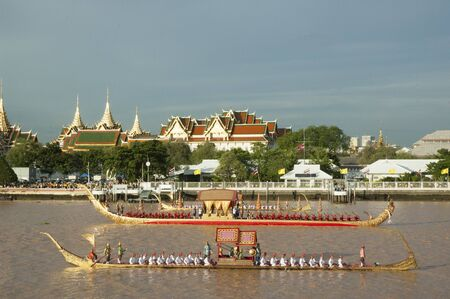 Thailand Royal Barge Editorial