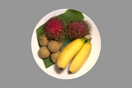 Thai Fruit Stock Photo