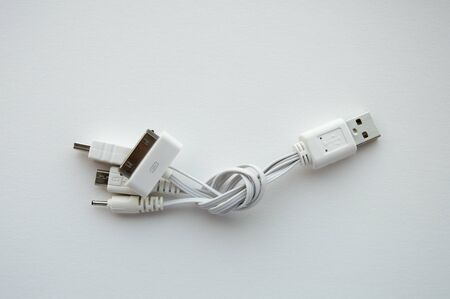 USB multi charger Stock Photo