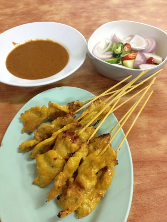 Pork Satay Set