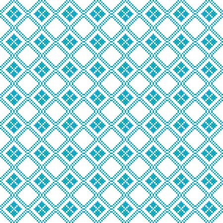 Thai Design Pixel Combination Pattern - abstract background