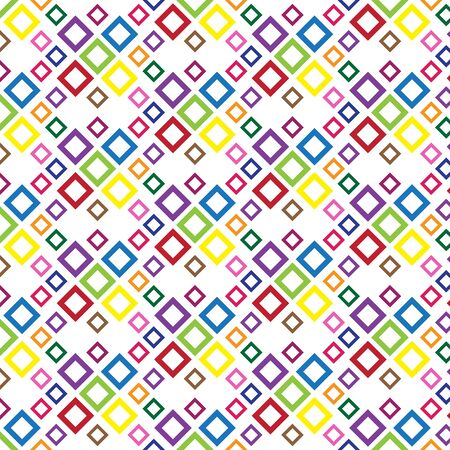 Colorful square Pattern - abstract background