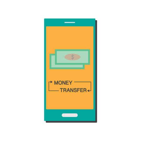 Financial Mobile Transaction - money transfer