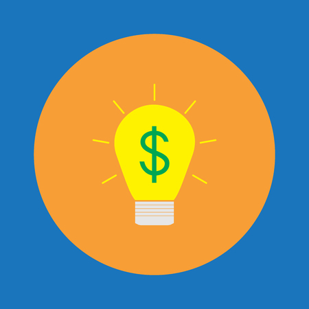 Idea to make money icon  sign  symbol