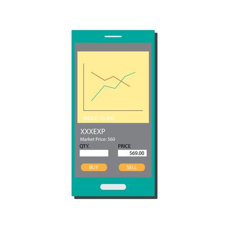Financial Mobile Transaction - Stock trading