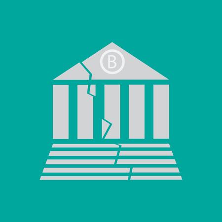 BANK problem icon  sign  symbol