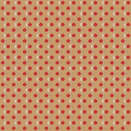 Sakura Simple Pattern minimal style - abstract background wallpaper Illustration