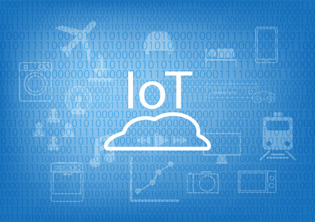 IoT - Internet of Things Background Illustration