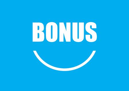 Smile Bonus sign /symbol for Human Resorce compensation and benefit
