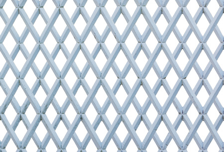 gaol: Metal grate isolated on white background.