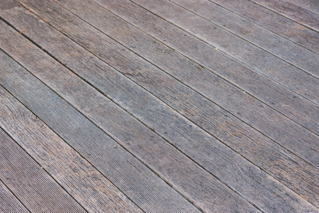 old wood floor: The floor of the brown old wood diagonally.