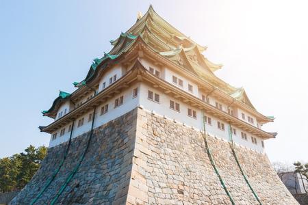 general store: Nagoya castle historic landmark in nagoya japan. Editorial