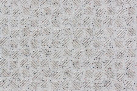 nonslip: White tile non-slip surface pattern background.