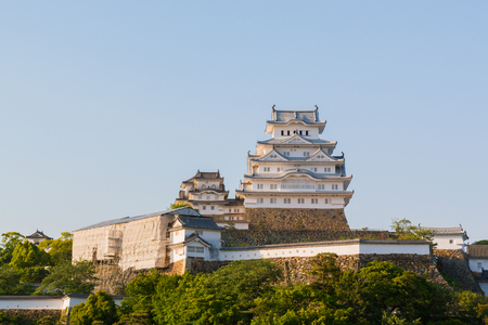 Himeji Castle is a hilltop Japanese castle complex located in Himeji city, in Hyogo Prefecture, Japan.